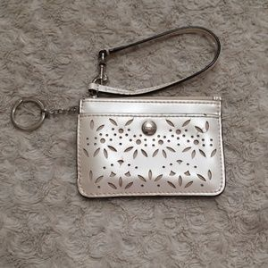 Coach KeyChained Card Holder Pouch